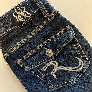 B1G1 Rock & Republic Kasandra Studded Jeans